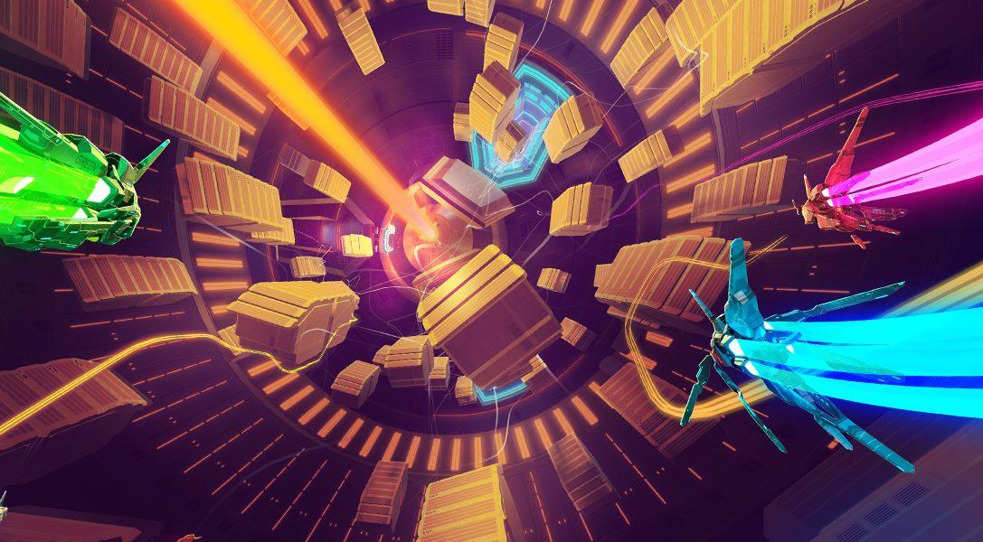 La construction des circuits multiples de Lightfield, le jeu de course science-fiction qui sort le 26 septembre sur PS4