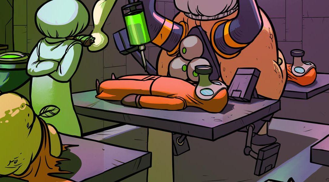 Splasher, la dernière création 2D du designer de Rayman Origins sort sur PS4 la semaine prochaine