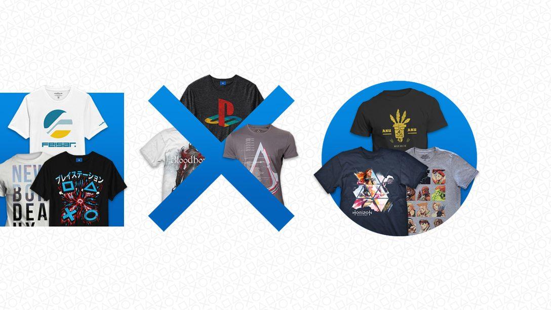 Nouvelle promo sur PlayStation Gear : faites des économies sur les T-shirts Horizon Zero Dawn, Overwatch, Crash Bandicoot et bien d'autres