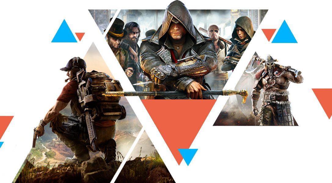 Des jeux PS4 à moins de 5 € le PlayStation Store et des tonnes de promos sur les jeux Ubisoft