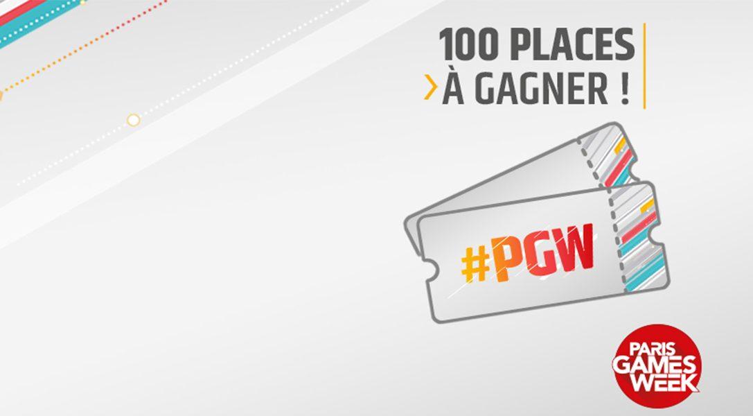 We Are PlayStation vous offre 100 places pour la Paris Games Week, tentez-votre chance !