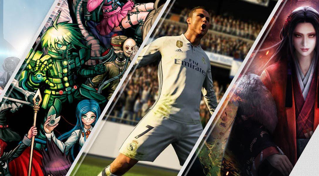 Mise à jour du PlayStation Store : FIFA 18, le dernier DLC de Nioh, EVE: Valkyrie – Warzone et bien d'autres…