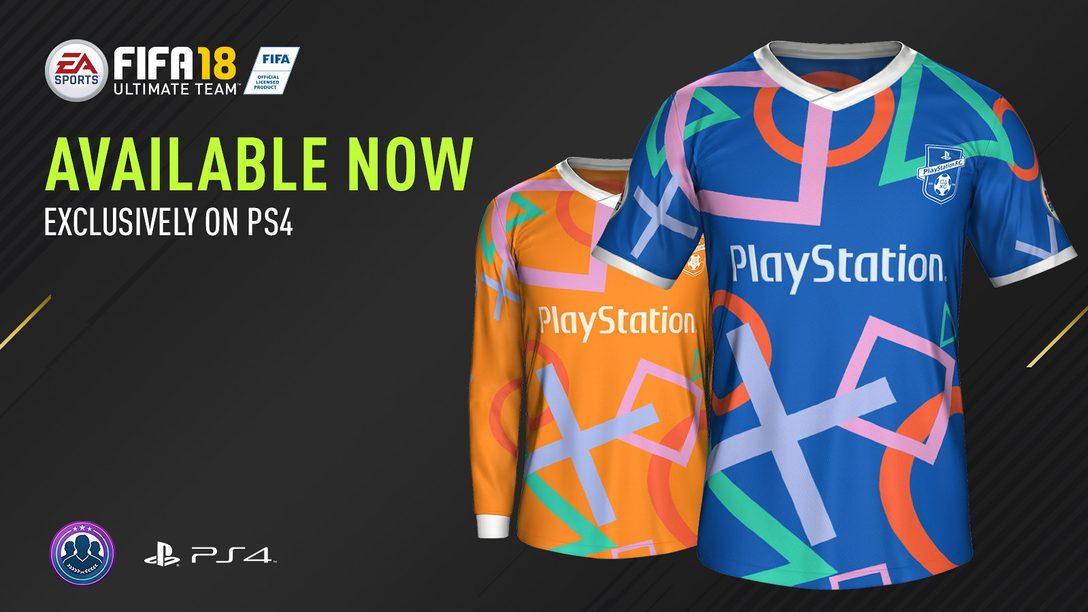 Un nouveau kit F.C. PlayStation arrive dans FIFA Ultimate Team
