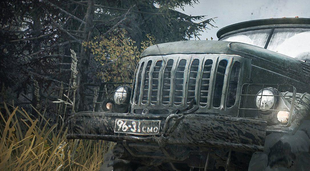 Nature du terrain ou économie de carburant : 8 astuces pour le simulateur d'off-road, Spintires: MudRunner, disponible sur PS4 la semaine prochaine