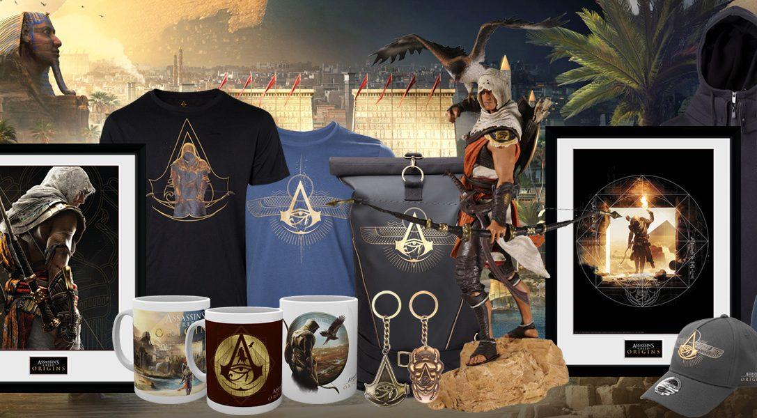 Une nouvelle gamme de produits dérivés pour Assassin's Creed Origins arrive sur PlayStation Gear