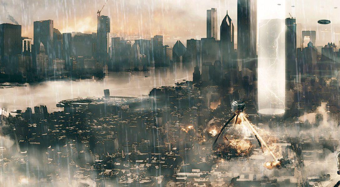 La destruction procédurale dans le jeu de simulation de super-héros Megaton Rainfall, disponible dès aujourd'hui sur PS4