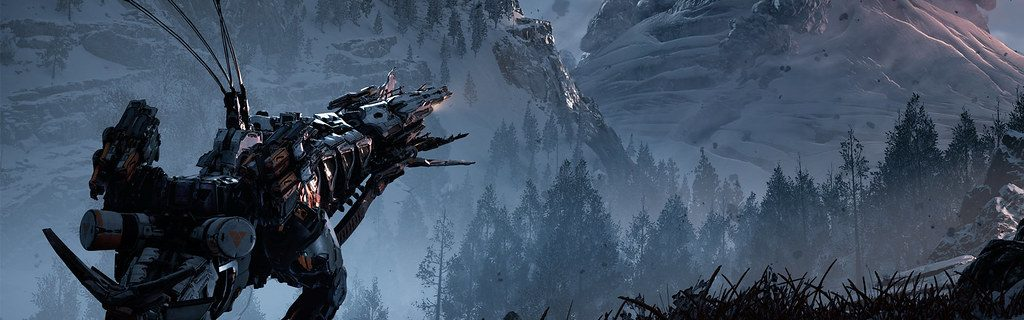 Regardez la bande-annonce de l'univers de Horizon Zero Dawn The Frozen Wilds
