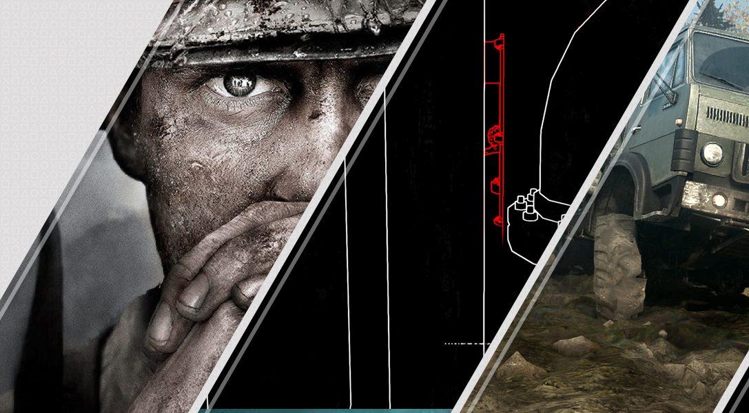 Mise à jour du PlayStation Store : Call Of Duty WWII, Stifled, PixelJunk VR Dead Hungry et bien plus…