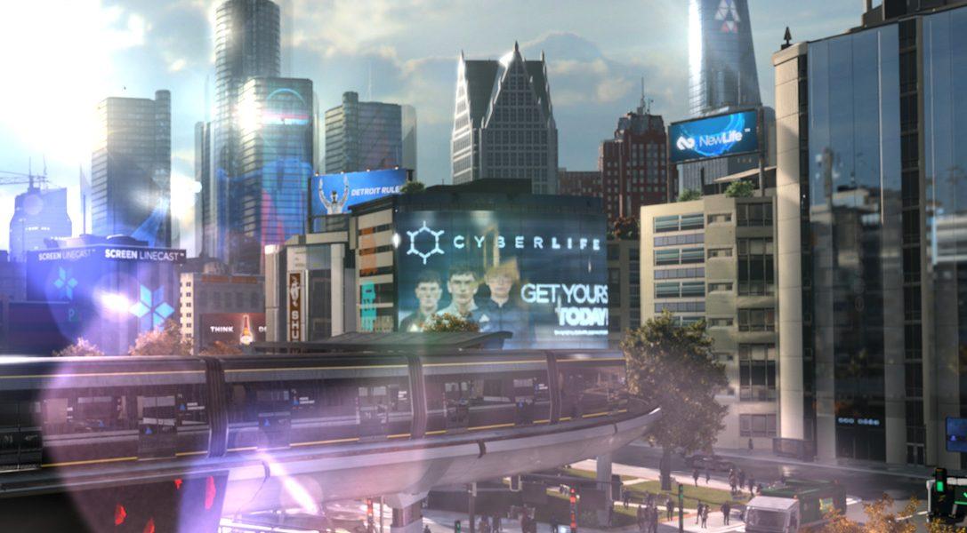 Découvrez l'infographie de la démo de Detroit à la Paris Games Week