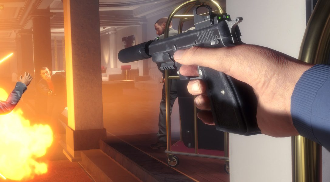 Comment le jeu de tir et d'action Blood and Truth en PS VR allie le meilleur de John Wick, de James Bond et de John McClane