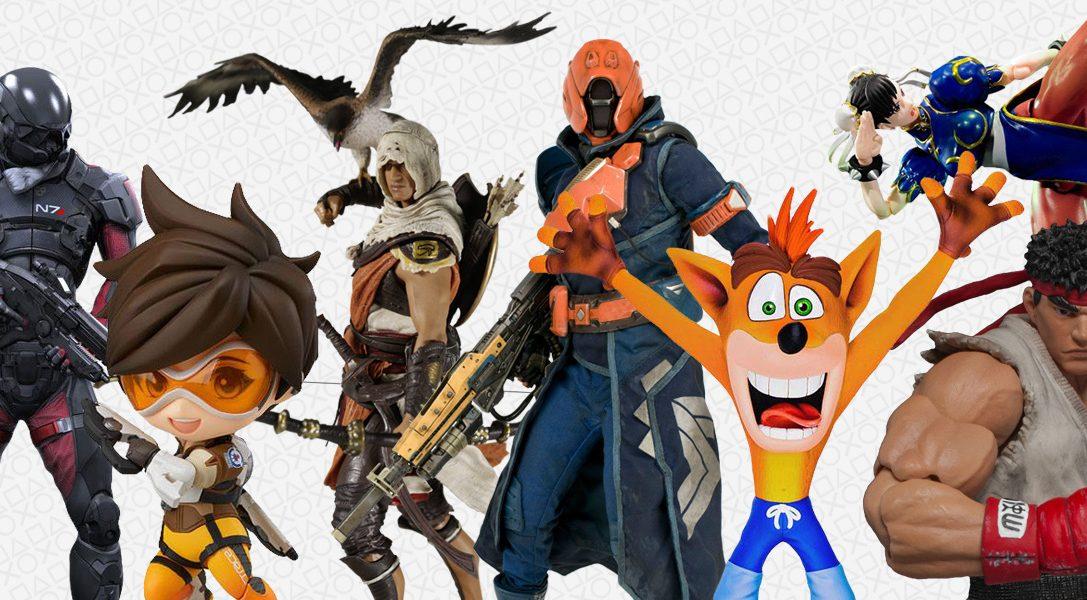 Une nouvelle gamme de figurines à collectionner et des posters exclusifs Horizon Zero Dawn arrivent sur PlayStation Gear