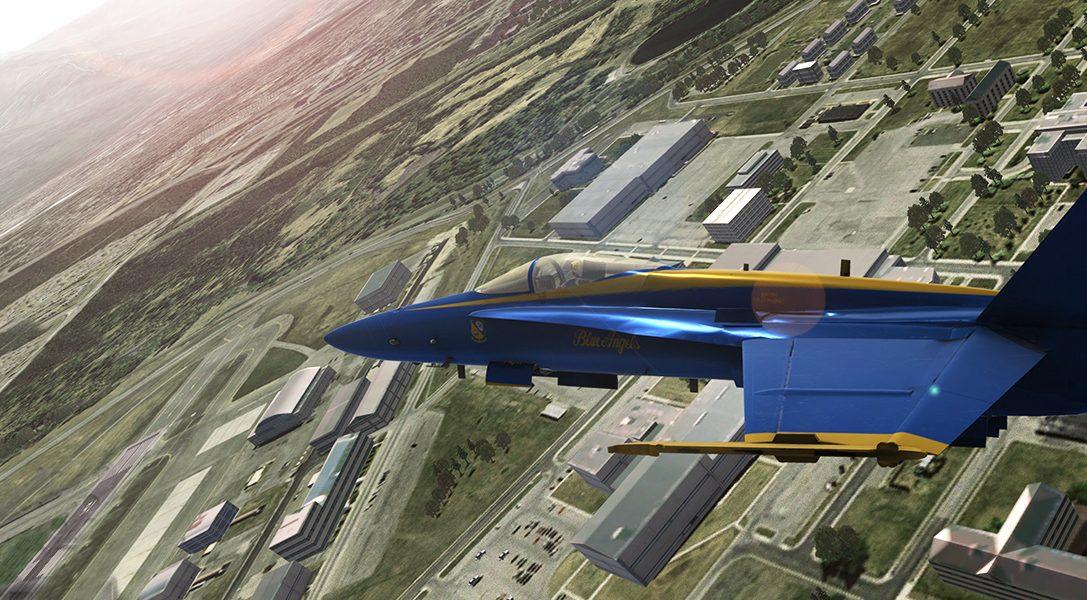 Comment un passionné d'aviation a collaboré avec l'US Navy pour créer Blue Angels Flight Simulator sur PS4