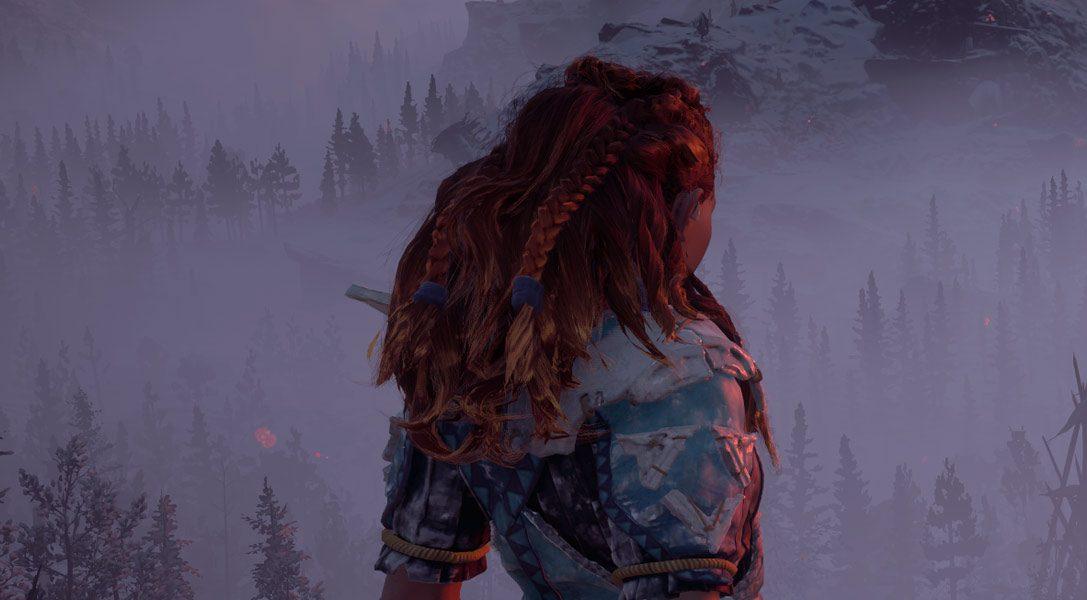 Regardez 12 minutes de gameplay d'Horizon Zero Dawn : The Frozen Wilds.