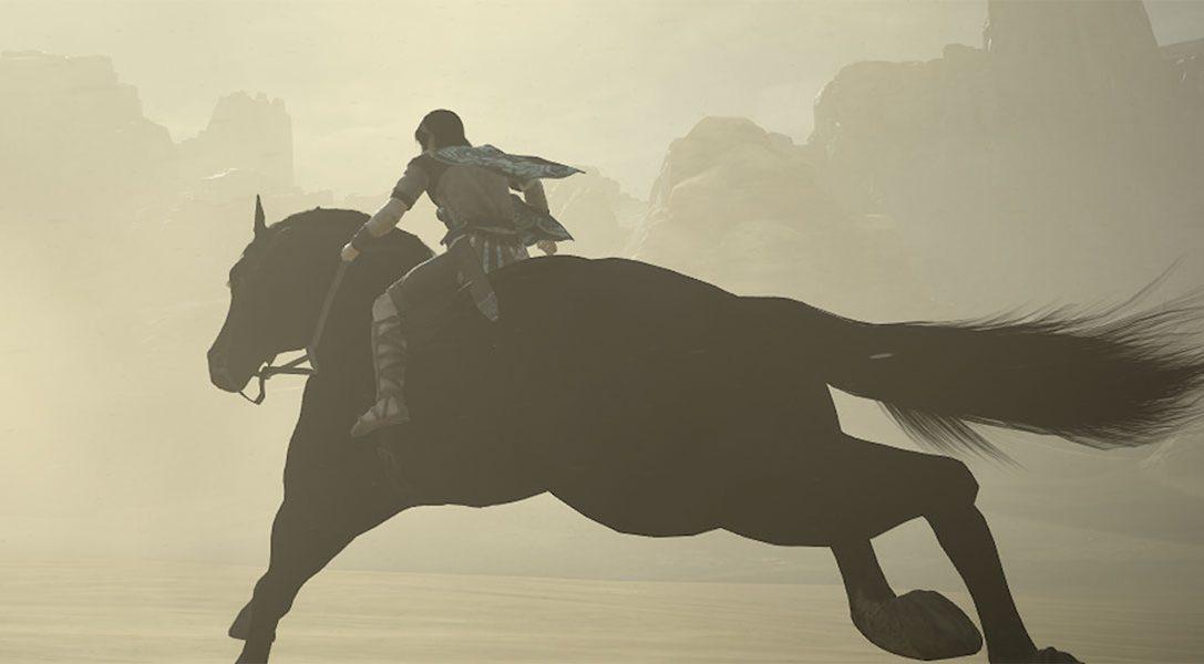 Regardez la séquence d'ouverture de Shadow of the Colossus sur PS4, qui sortira le 7 février