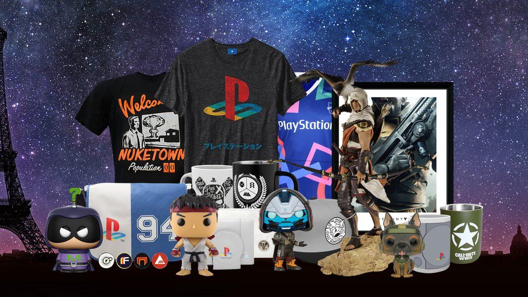 -15% de réduction sur tous les produits de la boutique PlayStation Gear