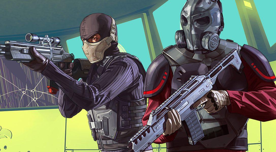 GTA Online : Le Braquage de la fin du monde maintenant disponible