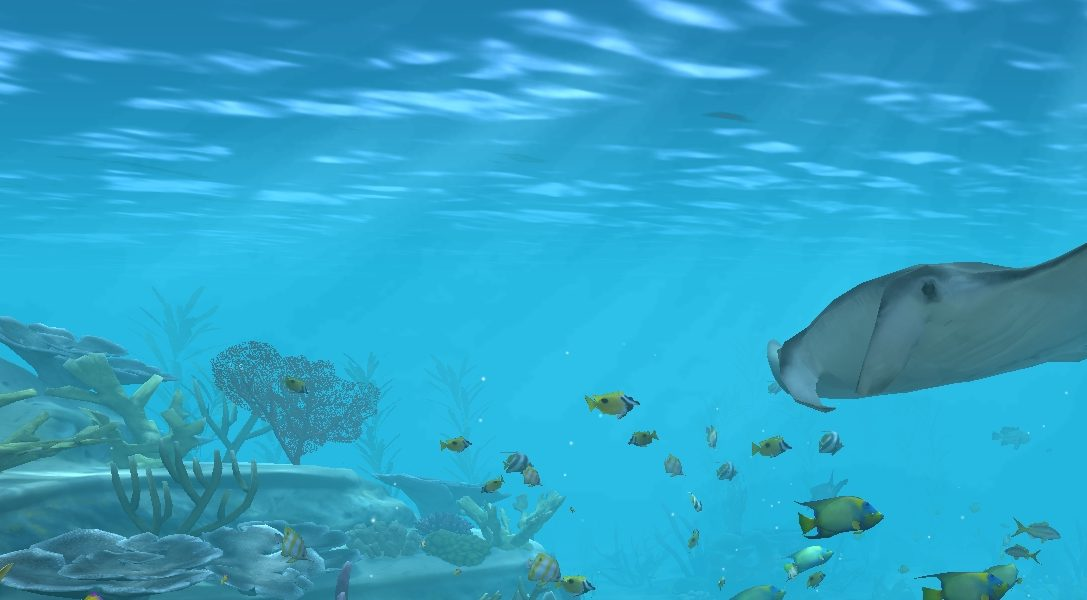 Transformez votre télévision en aquarium digne d'un méchant de James Bond avec Aqua TV sur PS4
