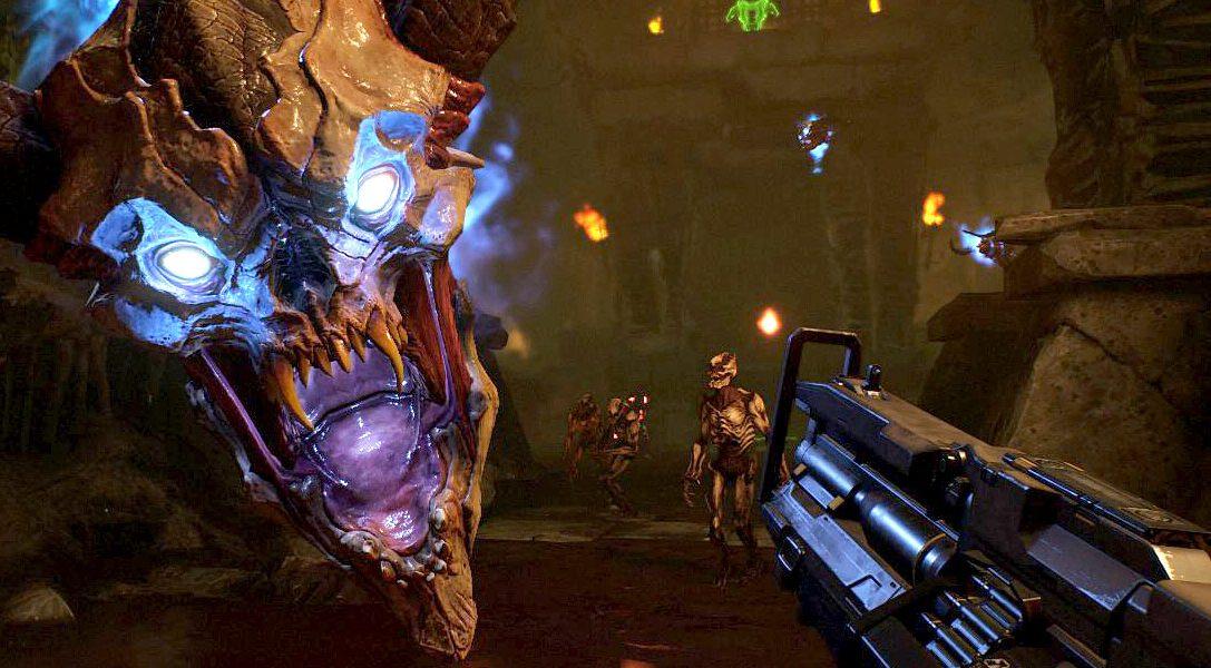 Comment la manette de visée PlayStation VR vous immergera dans Doom VFR, le jeu de massacre de démons, qui sort aujourd'hui