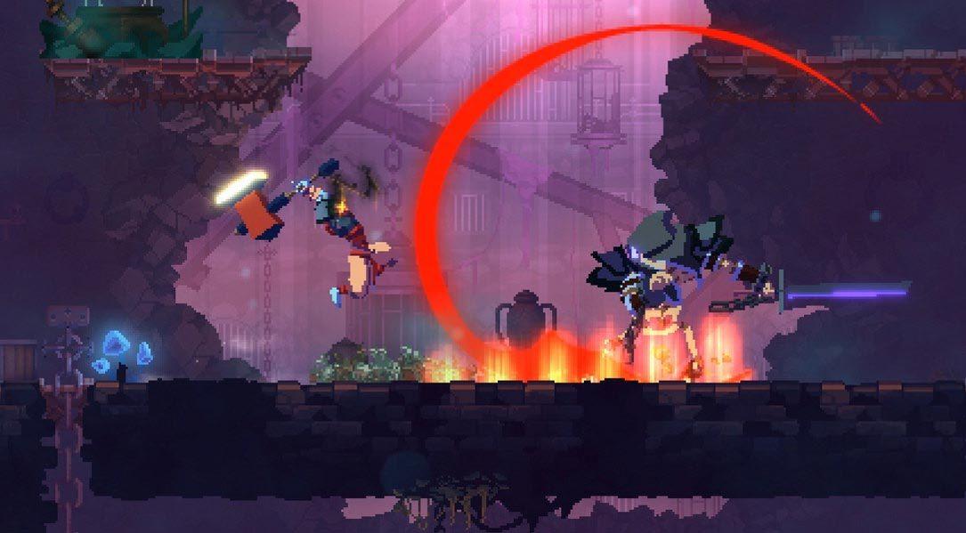 Dead Cells, l'excellent jeu de plateforme rogue-lite, vient en découdre sur PS4 cette année