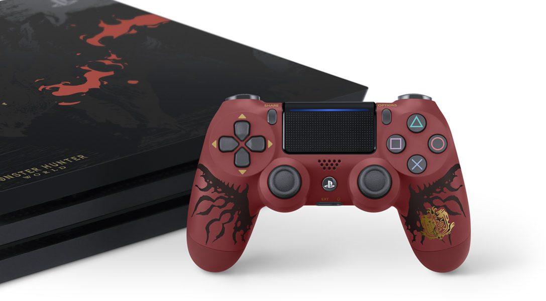 Présentation du pack PlayStation 4 Monster Hunter: World en édition limitée