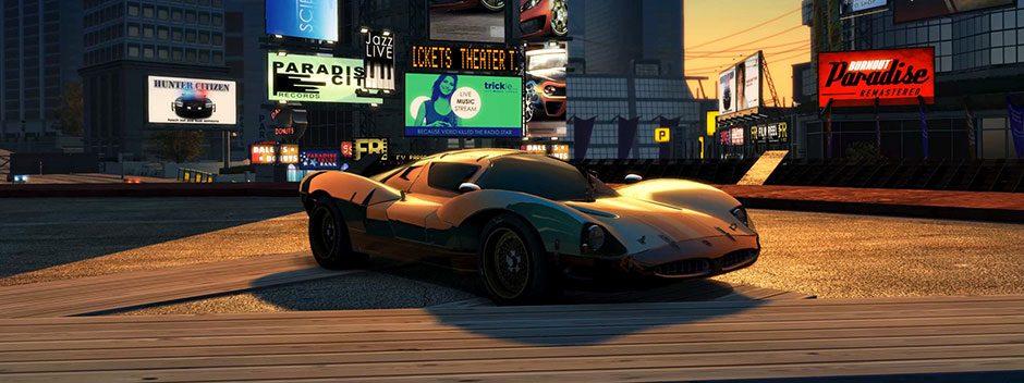 Burnout Paradise Remastered fait crisser les pneus sur PS4 le 16 mars