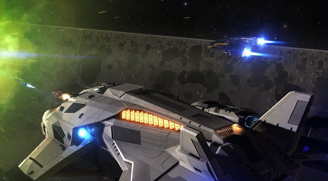 Cinq améliorations du jeu de science-fiction épique Elite Dangerous: Beyond