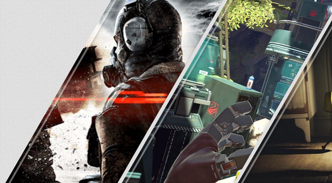 Mise à jour du PlayStation Store : Metal Gear Survive, Apex Construct et le dernier DLC de Little Nightmares : The Residence