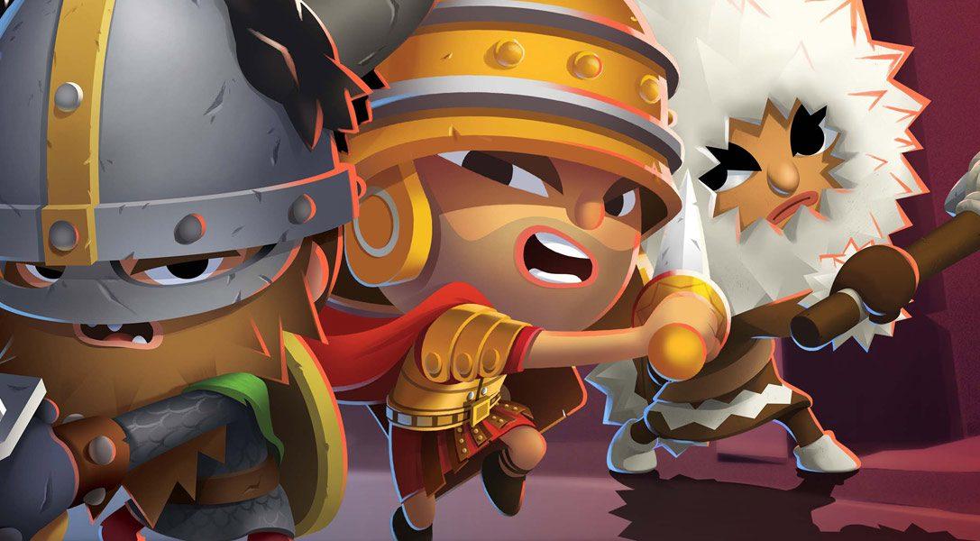 En mars, la guerre va faire rage dans World of Warriors, le jeu de combat en arène multijoueur sur PS4.