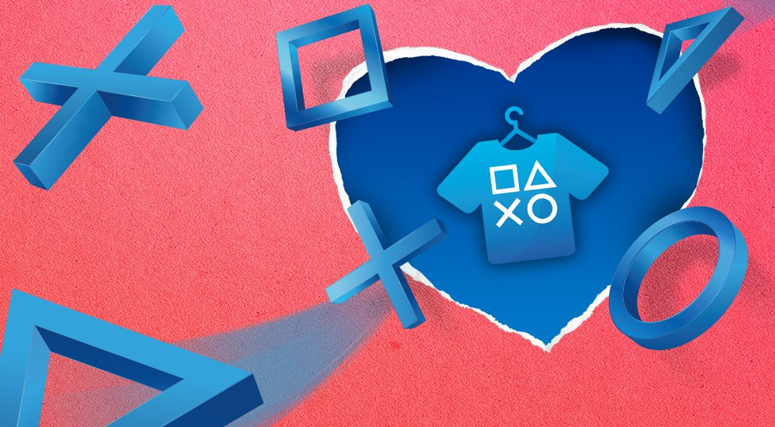 Top 8 spécial Saint-Valentin sur PlayStation Gear