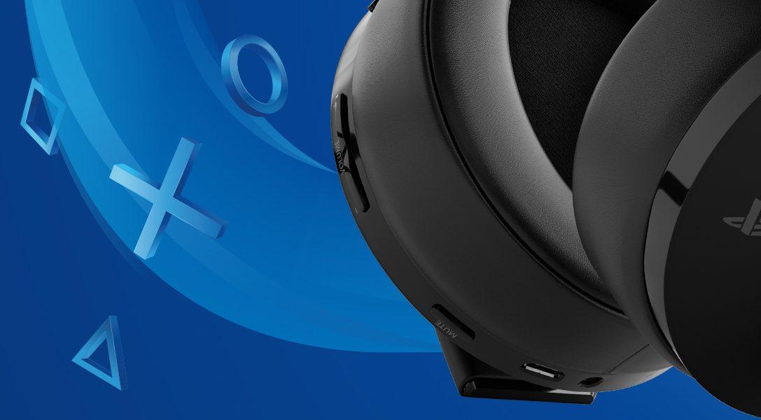 Le nouveau casque-micro sans fil or pour PS4 et PS VR bientôt disponible en Europe