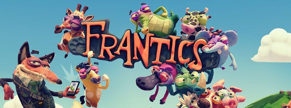 Jouez un tour à vos amis dans Frantics, le jeu multijoueur hilarant de la gamme PlayLink