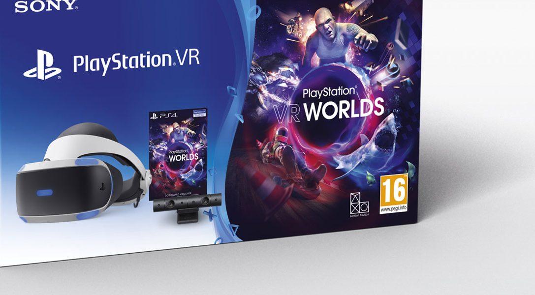 A partir de demain, le Starter Pack PlayStation VR est à 299,99 €