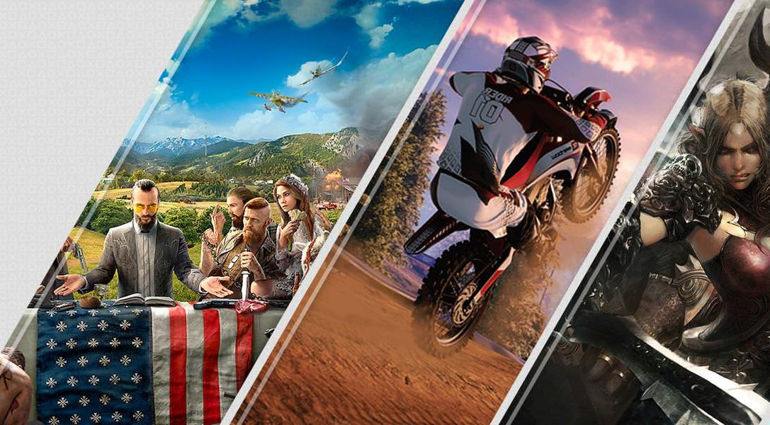 Mise à jour du PlayStation Store : Far Cry 5, MX vs ATV All Out et Tera