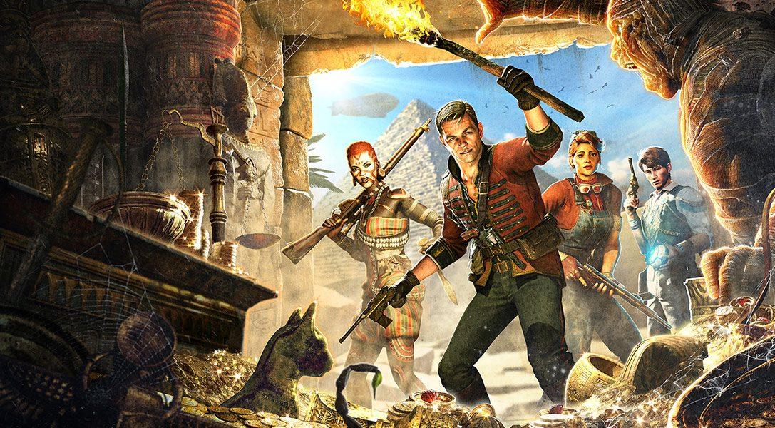 Absorbez les âmes pour utiliser la magie et trouvez des trésors pour obtenir des améliorations dans le jeu de tir en coop Strange Brigade