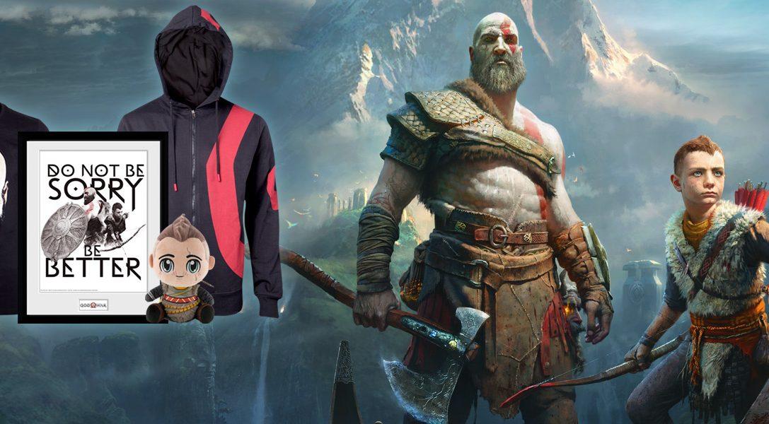 La nouvelle gamme de produits dérivés God of War est sur PlayStation Gear