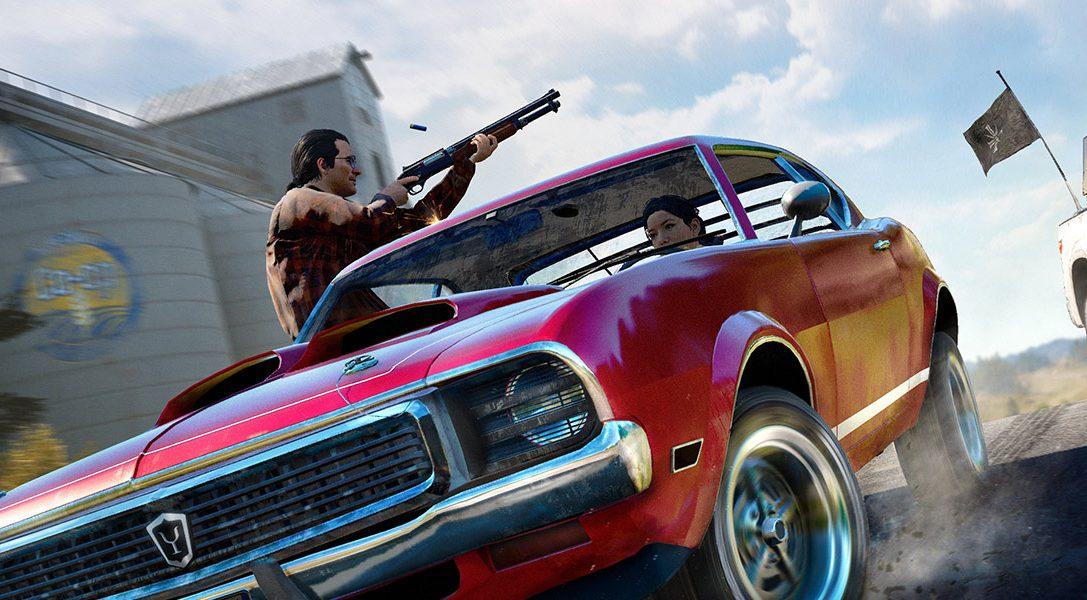 Far Cry 5 la meilleure vente sur le PlayStation Store en mars