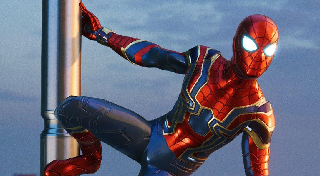 La tenue Iron Spider inspirée d'Avengers: Infinity War arrive dans Marvel's Spider-Man le 7 septembre