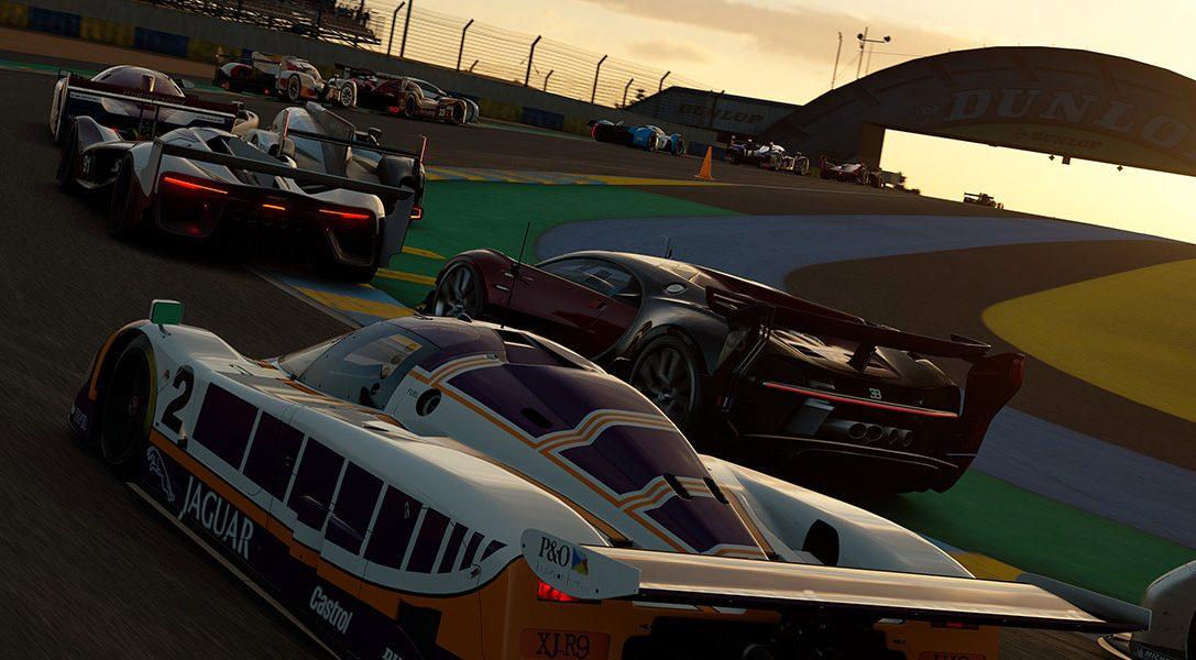 Les légendaires 24 heures du Mans arrivent sur Gran Turismo Sport, disponible dès maintenant