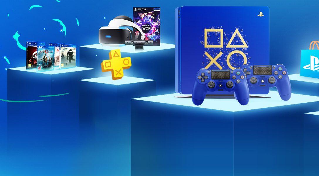 Les Days of Play reviennent avec 11 jours de grosses réductions et une nouvelle édition limitée de PS4