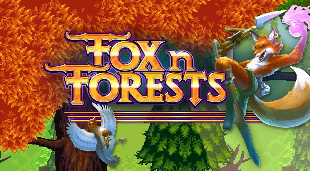 Le jeu de plateformes rétro 16 bits Fox 'n' Forests débarque aujourd'hui sur PS4