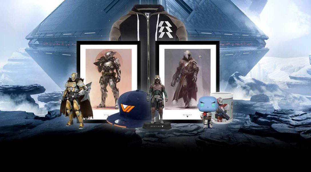 Du nouveau sur PlayStation Gear : produits God of War et économies sur Destiny 2