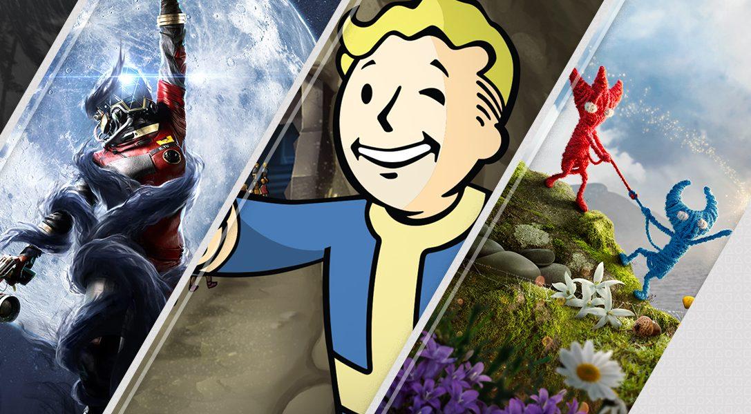 Les nouveautés Playstation Store cette semaine: Unravel Two, Fallout Shelter, Prey: Mooncrash, Jurassic World Evolution et plus encore !