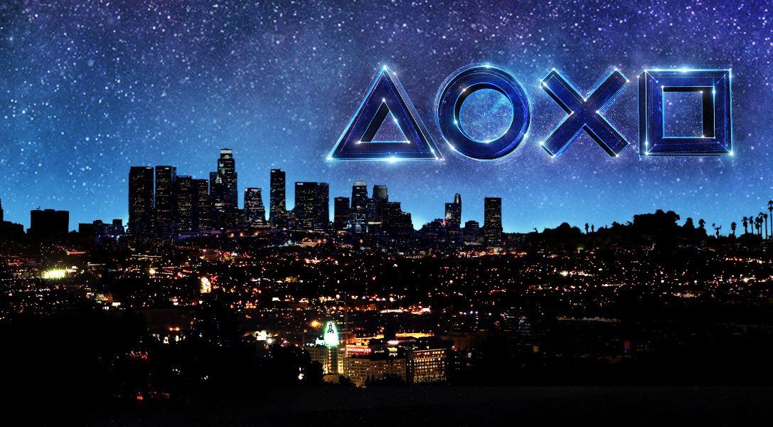 Le compte à rebours PlayStation pour l'E32018 démarre le mercredi6juin