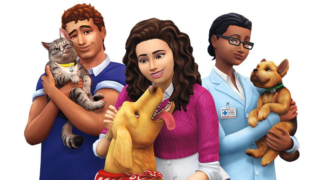 Personnalisez vos animaux et apprivoisez vos amis fantômes à quatre pattes dans l'extension Les Sims 4 Cats & Dogs