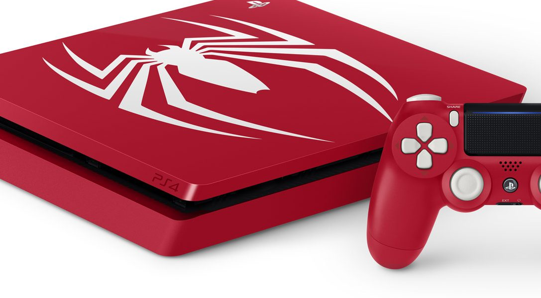 Nous vous présentons les packs PS4 et PS4 Pro Édition limitée Marvel's Spider-Man