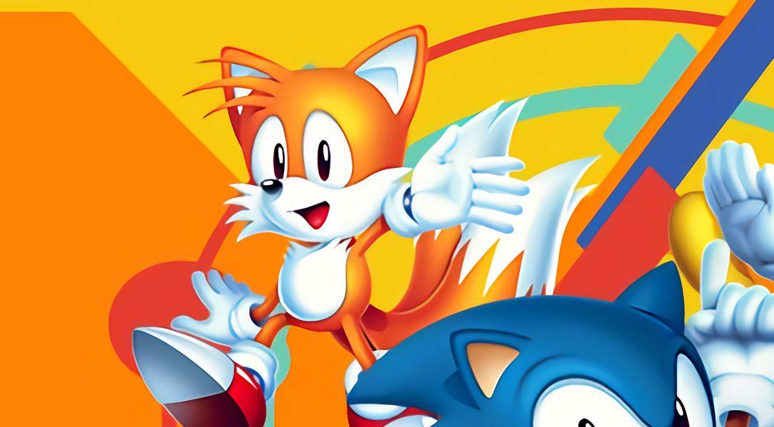 Sonic Mania débarque sur PS4 cette semaine avec des personnages inédits, de nouveaux modes et des niveaux retravaillés