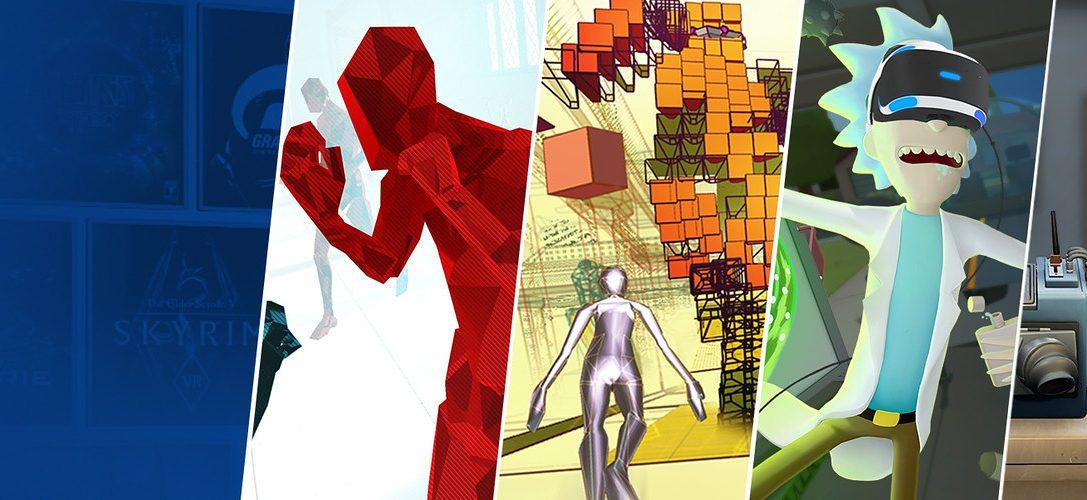 13 expériences PS VR géniales qui bénéficient de réductions sur PlayStation Store ce week-end