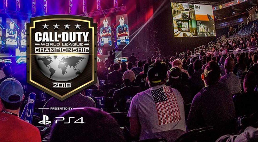Coup d'envoi du Call of Duty World League Championship 2018