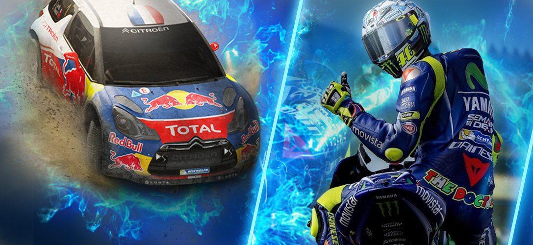 Sebastien Loeb Rally Evo, Valentino Rossi et Mantis Burn Racing en tête des sorties PS Now du mois