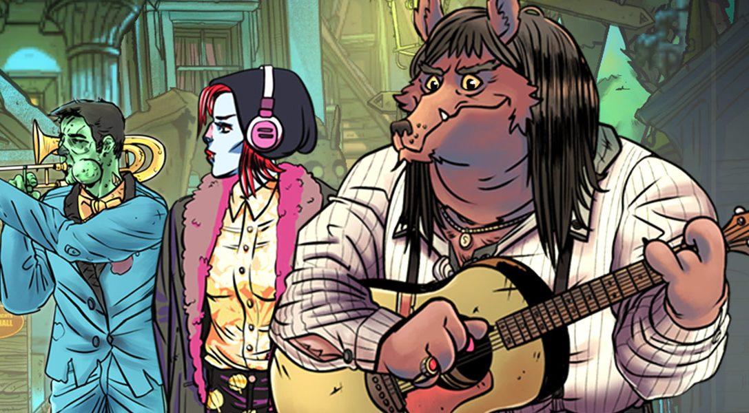 Wailing Heights, le magnifique jeu d'aventure au style comics, arrive aujourd'hui sur PS4